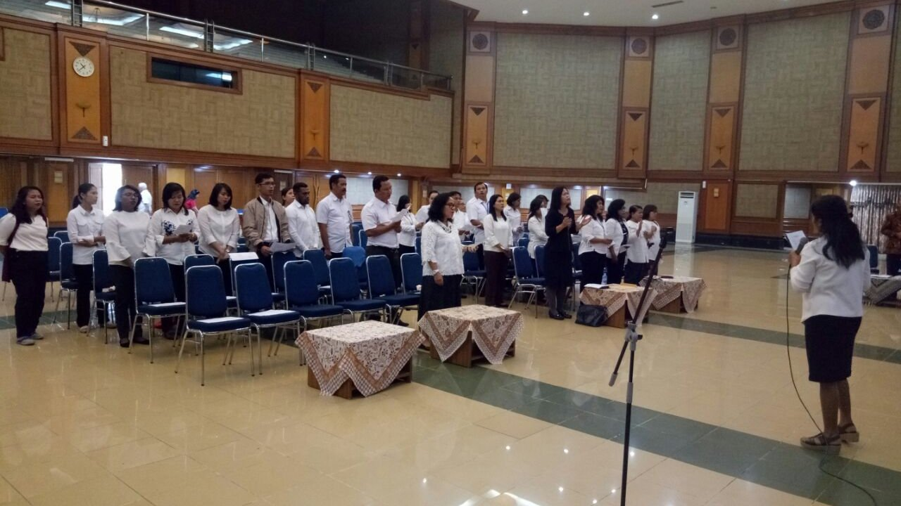 Kebaktian Paskah KEMENSOS