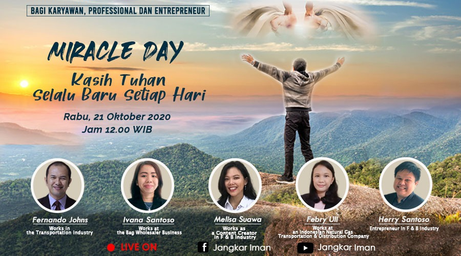 Miracle Day 21 Oktober 2020
