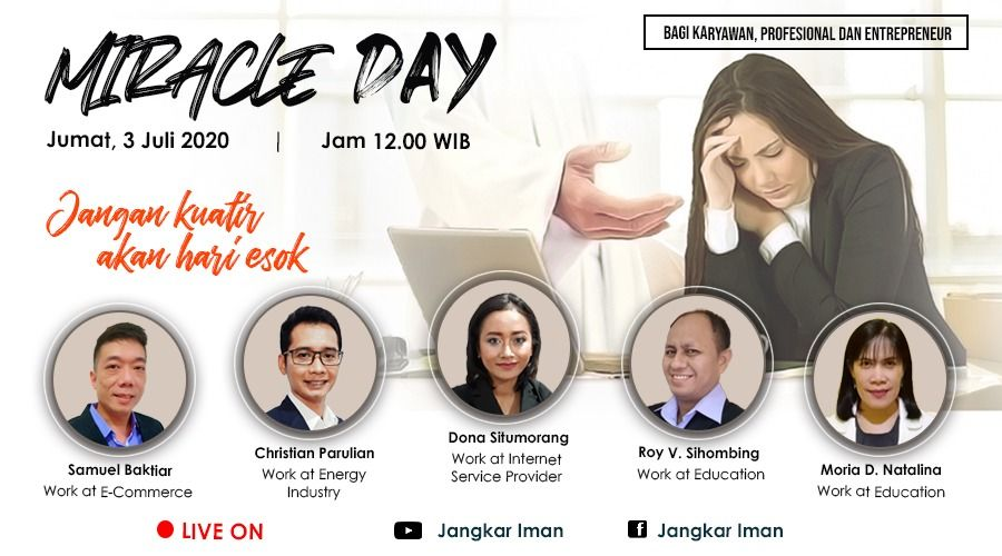 Miracle Day, Friday 3 July 2020