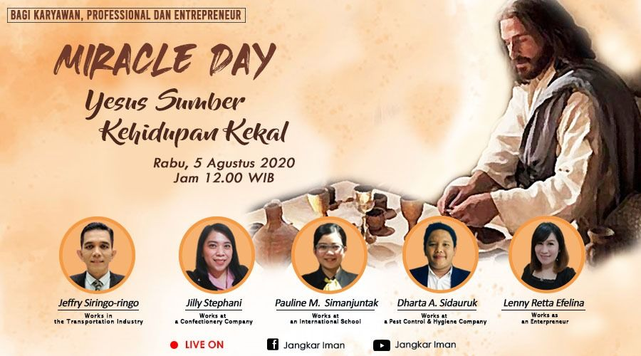 Miracle Day, Wednesday 5 August 2020