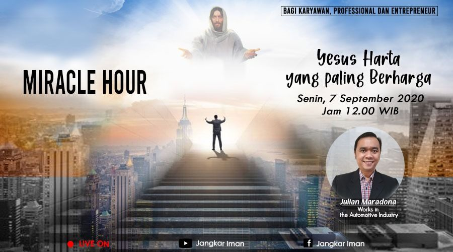 Miracle Hour, Monday 7 September 2020