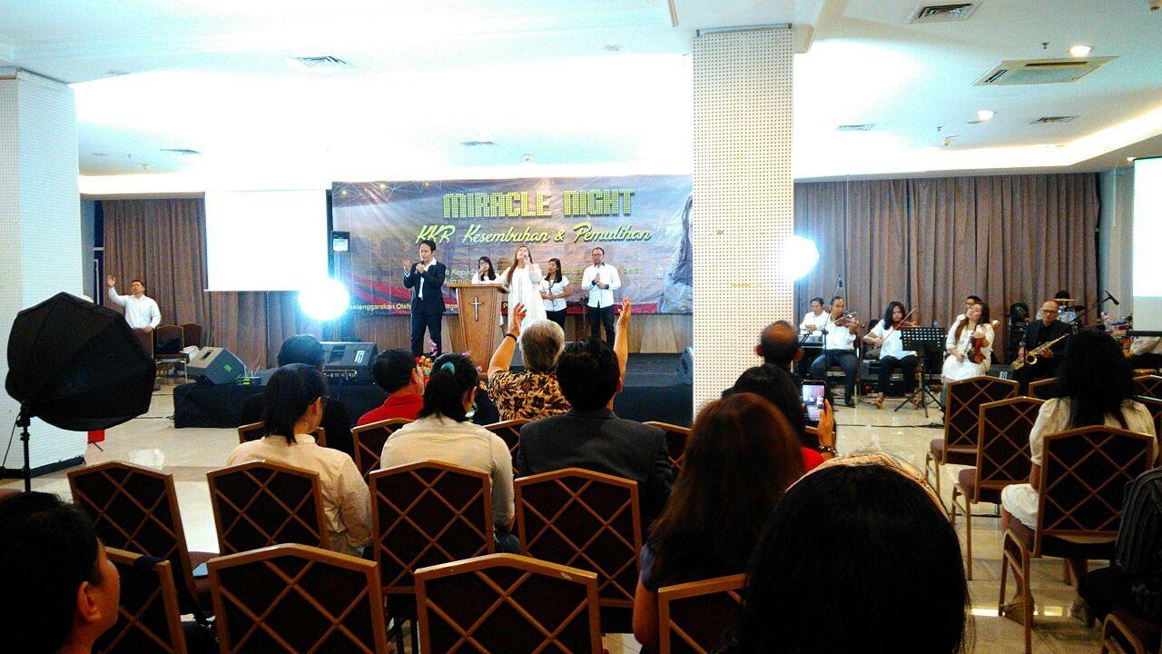 Miracle Night at Bellagio Boutique Mall, Kuningan, Jakarta