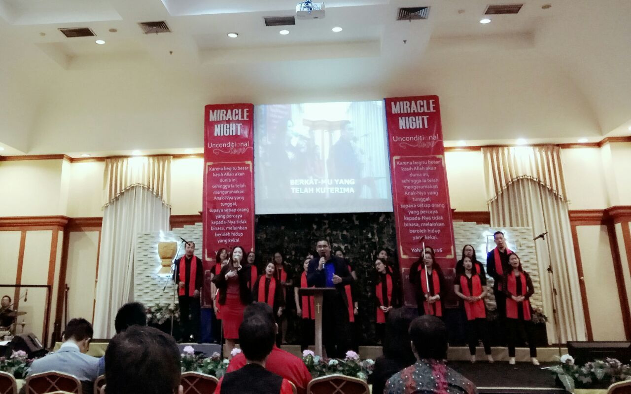 Miracle Night at Matapel Hall, Kebon Jeruk, Jakarta