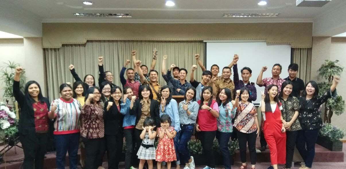 Easter Crusade at Puri Kembangan Office, Cengkareng, Jakarta