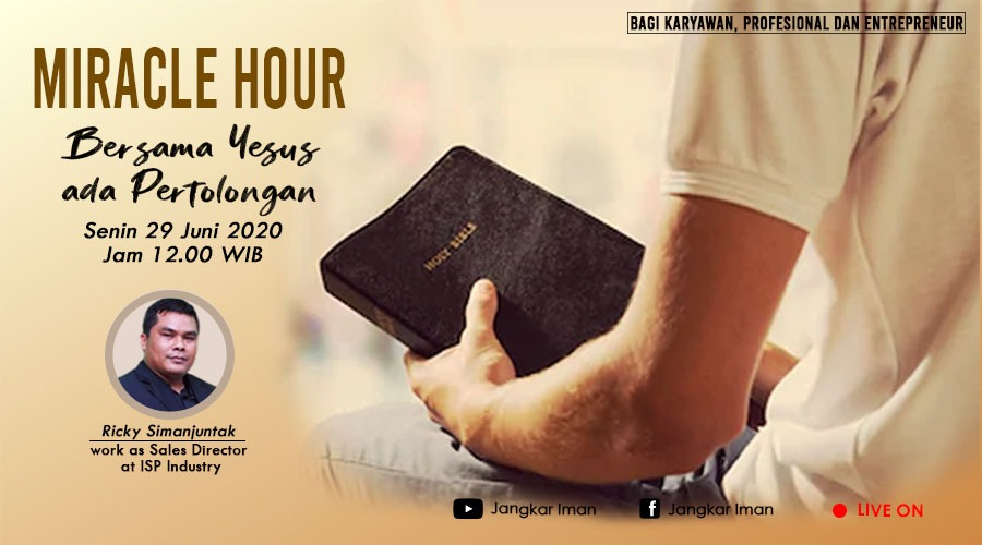 Miracle Hour, Monday 29 June 2020